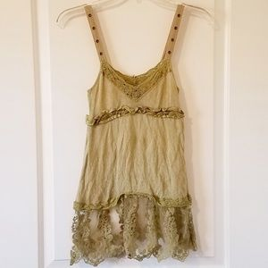 GUC Free People Tank Top Size 0